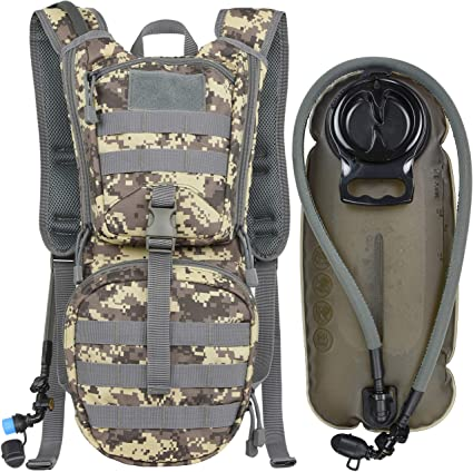 backpack with hydration pack