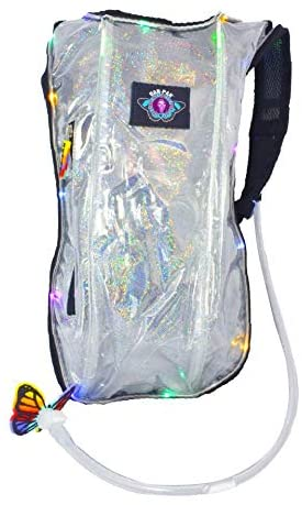 clear hydration backpack