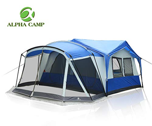family tent with screen room