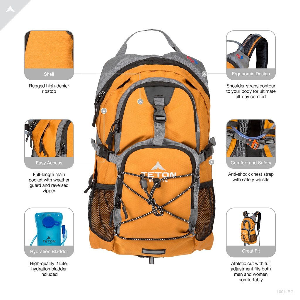 hydration bladder backpack