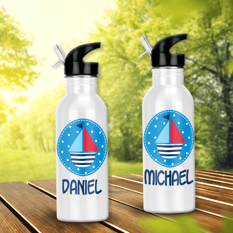 personalized water bottles for kids